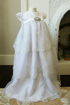 Frühling Kurze Ärmel Zeremonie Prinzessin Blumenmädchen kleid