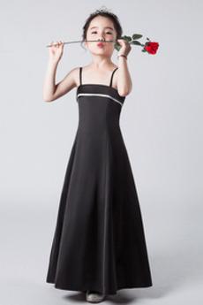 Hochzeit Drapiert Sommer A Linie Frenal Kleine Mädchen Kleid