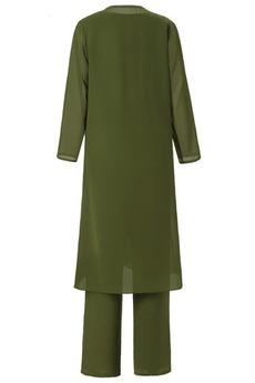 Chiffon Keine Taille T Hemd Knöchellänge Einfache Mutter Kleid
