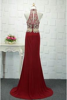 Leistung Mantel Sternenklar Hoch bedeckt Luxuriöse Abendkleid