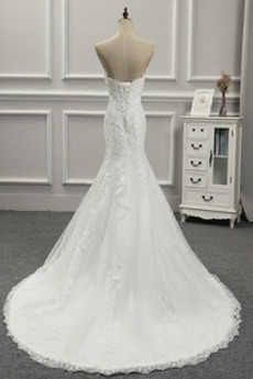 Ärmellos Schatz Lange Schöne Fest Drapiert Natürliche Taille Hochzeitskleid