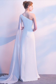 Sommer Chiffon Ärmellos einfache Natürliche Taille Pailletten kleid