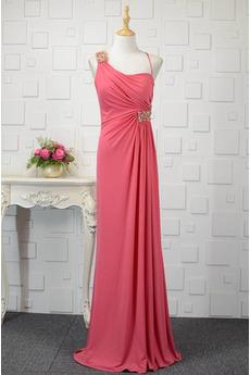 Hochzeit Natürliche Taille Frenal Spandex Kristall Abendkleid