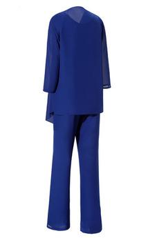 Birne Hoch bedeckt Klassisch Bankett Mutter kleid mit Ärmeln