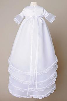 Hoch bedeckt Sommer Taste Laterne Prinzessin Blumenmädchen kleid