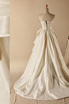 Reißverschluss Kirche Bogen Elegante Schatz Prinzessin Brautkleid