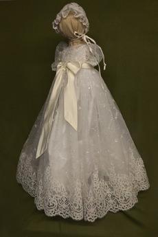 hoch gedeckt Laterne Juwel Trichter Satiniert Blumenmädchen kleid