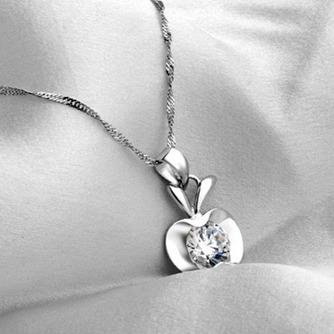 Apple süße Persönlichkeit heißer Verkauf Plating Halskette & Anhänger - Seite 2