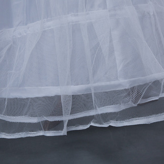 Hochzeitskleid Meerjungfrau Korsett Perimeter Glamourös Elasthan Hochzeit Petticoat - Seite 4