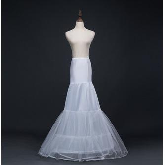 Hochzeitskleid Meerjungfrau Korsett Perimeter Glamourös Elasthan Hochzeit Petticoat - Seite 1