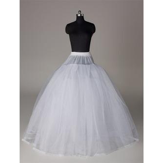 Rahmenlose Elegante Starkes Netz Doppelgarn Hochzeitskleid Hochzeit Petticoat - Seite 1