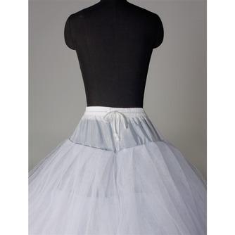 Rahmenlose Elegante Starkes Netz Doppelgarn Hochzeitskleid Hochzeit Petticoat - Seite 3