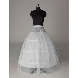 Perimeter Drei Felgen Spitzenbesatz Elastische Taille Hochzeit Petticoat - Seite 1