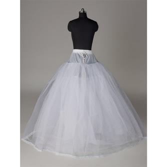 Rahmenlose Elegante Starkes Netz Doppelgarn Hochzeitskleid Hochzeit Petticoat - Seite 2