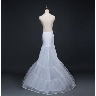 Hochzeitskleid Meerjungfrau Korsett Perimeter Glamourös Elasthan Hochzeit Petticoat - Seite 3