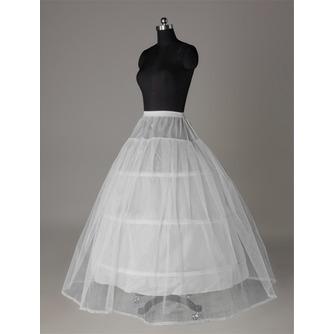 Perimeter Drei Felgen Spitzenbesatz Elastische Taille Hochzeit Petticoat - Seite 2