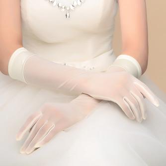 Transluzent Schatten Das ewige Herbst Volle finger Hochzeit Handschuhe - Seite 1