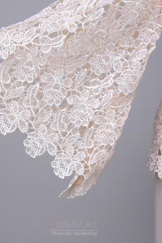 Lange Ärmel Anzug Hochzeit Spitzenüberlagerung Mutter der Braut Kleid - Seite 9