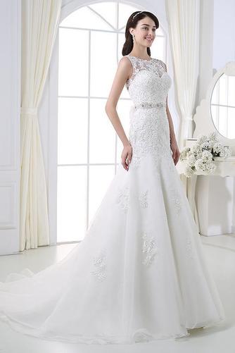 Perlengürtel Breit flach Lange Birne Lehnenlose Hochzeitskleid - Seite 3