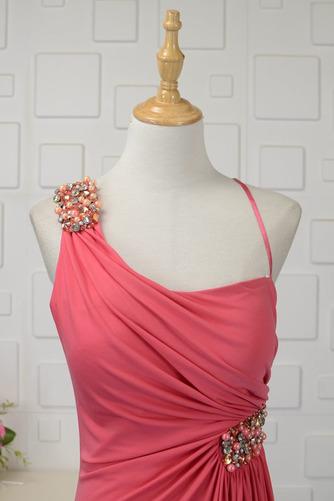 Hochzeit Natürliche Taille Frenal Spandex Kristall Abendkleid - Seite 4
