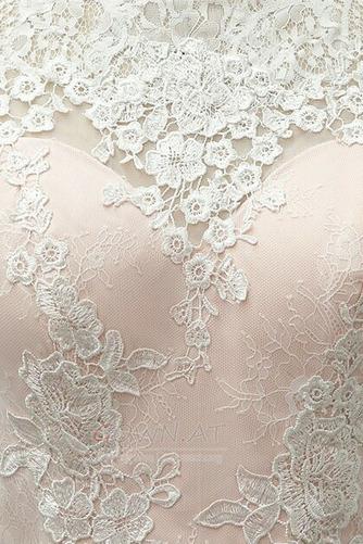 Spitzenüberlagerung Juwel Strand Glamourös Sommer Hochzeitskleid - Seite 9