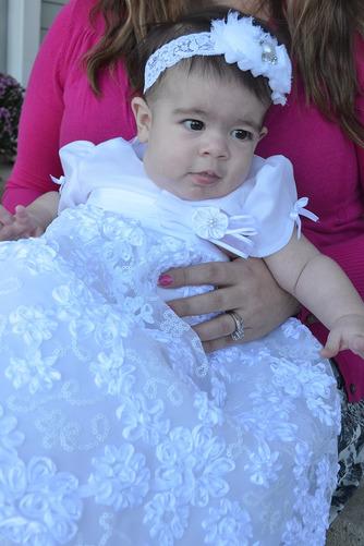 Natürliche Taille Juwel Abnehmbarer Zug Formalen Blumenmädchen kleid - Seite 2