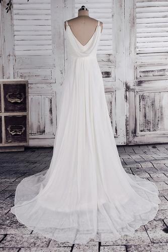 Klassisch Dünn Bischofaschen Reich Reißverschluss Hochzeitskleid - Seite 4