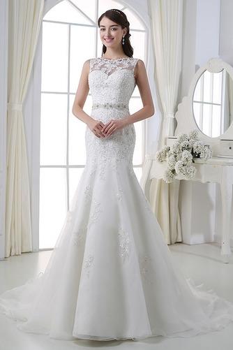 Perlengürtel Breit flach Lange Birne Lehnenlose Hochzeitskleid - Seite 1