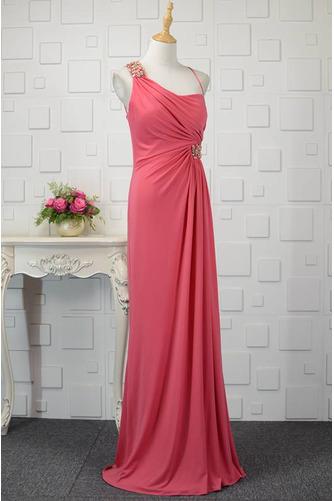 Hochzeit Natürliche Taille Frenal Spandex Kristall Abendkleid - Seite 2