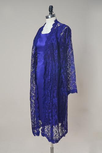 Anzug Lange Ärmel Natürliche Taille Illusionshülsen Mutterkleid mit bolero - Seite 2