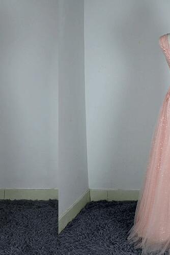 Hochzeit Natürliche Taille Fegen zug Schön Brautjungfer Kleid - Seite 4
