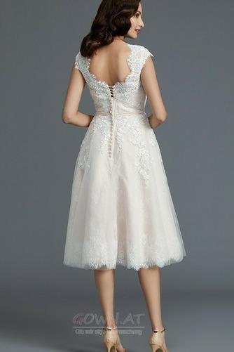 Spitzenüberlagerung Juwel Strand Glamourös Sommer Hochzeitskleid - Seite 2
