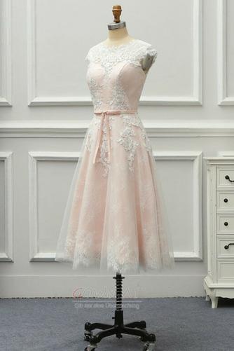 Spitzenüberlagerung Juwel Strand Glamourös Sommer Hochzeitskleid - Seite 7