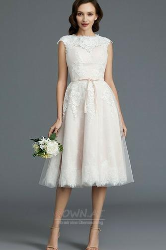 Spitzenüberlagerung Juwel Strand Glamourös Sommer Hochzeitskleid - Seite 1