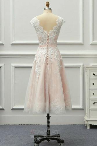 Spitzenüberlagerung Juwel Strand Glamourös Sommer Hochzeitskleid - Seite 8