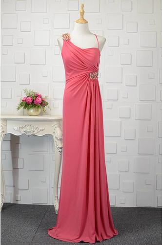 Hochzeit Natürliche Taille Frenal Spandex Kristall Abendkleid - Seite 1
