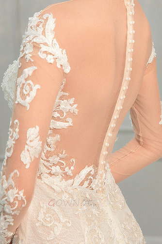 Draussen Natürliche Taille Breit flach Meerjungfrau Brautkleid - Seite 9
