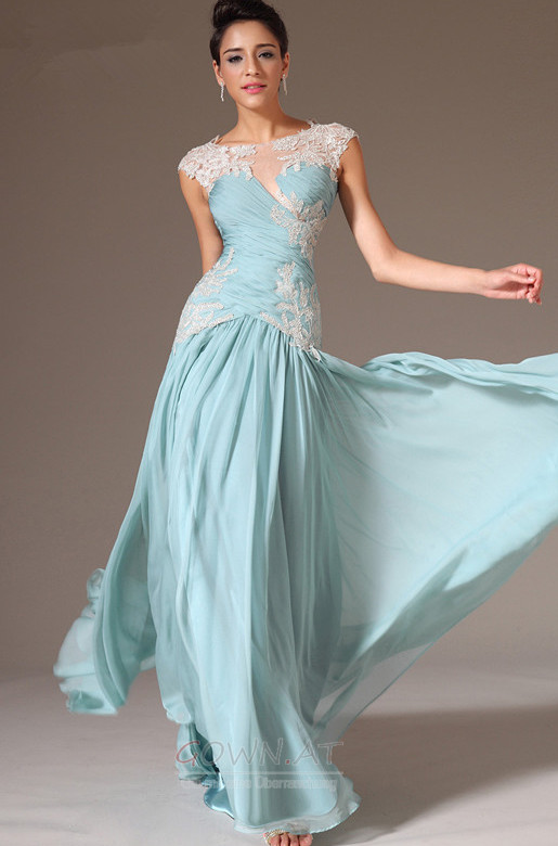Meerjungfrau Abendkleider