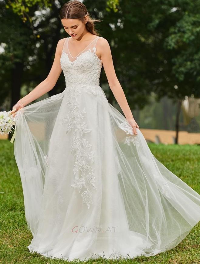 Tüll Brautkleider