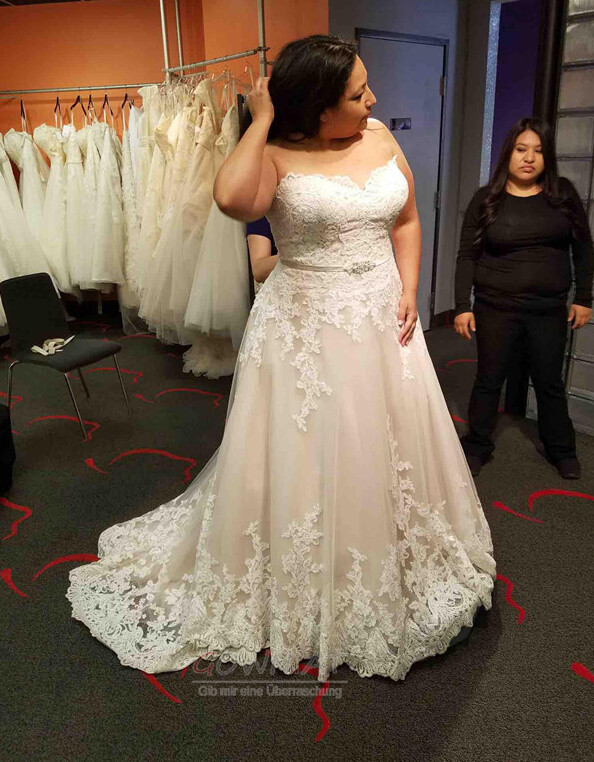 Übergröße Brautkleider